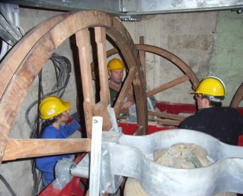 Bell maintenance