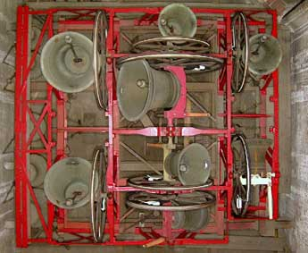 Bells 'up' ready for ringing